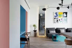 Home Interior Design For Small Apartments Small Apartment Refreshed With Color And A New Interior Design