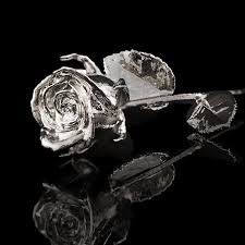 silver roses valentines day gold dipped s fischer s jewerlry