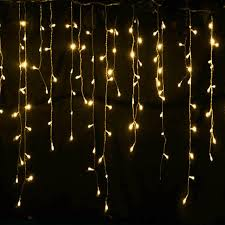 Outdoor Icicle Lights Lights Outdoor Decoration 5 Meter Droop 0 4 0 6m Led