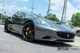 Ferrari California Green - ferrari california with 21in vossen cg 201 wheels exclusively from