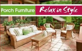 porch furniture ideas