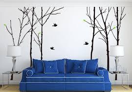large tree wall decals tree birds wall sticker bedroom tree