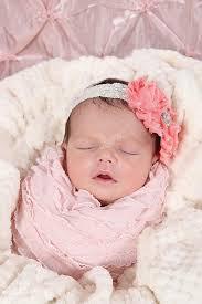 newborn sleeping in crib u2014 stock photo melking 53353511