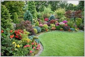 flower garden ideas in front of house