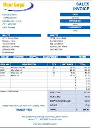 Invoice Template Free Excel Simple Invoice Template For Excel Free