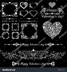Valentine S Day Vector Decor by Happy Valentine Day Decor Collection Design Stock Vector 531357310