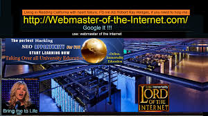 webmaster webmaster of the internet robert ray hedges googlebot hijacked webmaster of the internet
