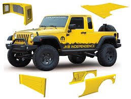 lifted jeep bandit mopar jk 8 pickup conversion kit for 07 12 jeep wrangler