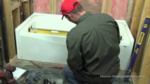 nice bathroom tub installation video 80 for home redecorate with