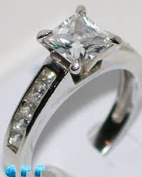 simulated engagement ring shop brilliance 2 carat princess cut best quality