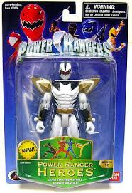 power rangers power ranger heroes series 16 dino thunder white