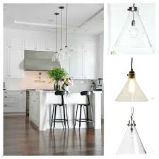 top clear glass pendant lighting kitchen ideas home lighting