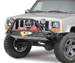 jeep wrangler prerunner rusty u0027s offroad pre runner winch bumper for 84 01 jeep cherokee