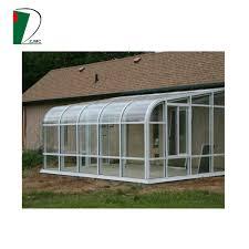 2017 new design garden glass sun room garden conservatory winter