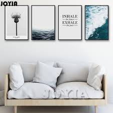 aliexpress com buy waves seascape prints modernism life quotes