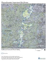 Concord Massachusetts Map by Site Summary Sudbury Concord River Valley