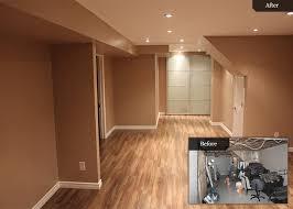 Basement Renovation - toronto basement renovation before after bowerbird
