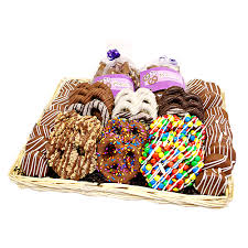 gourmet chocolate gift baskets cravings collection gourmet chocolate covered treats gift basket
