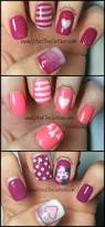 50 valentines nails art designs to impress your boy friend fluffy