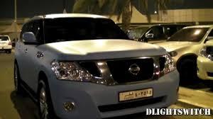 nissan armada 2017 qatar matte baby blue nissan patrol in qatar youtube