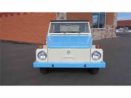 classic volkswagen thing 1973 volkswagen thing for sale classiccars com cc 982182