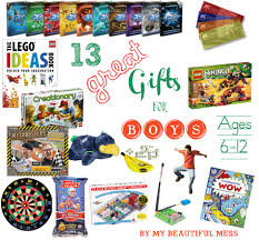 great gifts for 13 great gift ideas for grade school aged boys ages 6 12