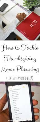 how to tackle thanksgiving menu planning giveaway dash of jazz