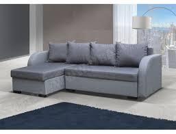 ub design canapé canapé lit ub design josé angle réversible gris gris pas cher