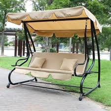 winston porter whitney outdoor covered porch swing with stand