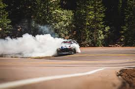 hoonigan mustang drifting watch ken block tempt death climbing pikes peak in a 1 400 hp mustang