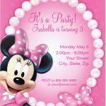 minnie mouse 1st birthday invitations templates minnie mouse free
