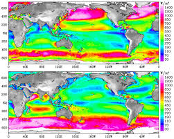 Ocean Map World by Nasa Ocean Wind Power Maps Reveal Possible Wind Energy Sources