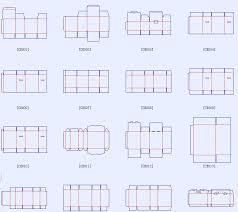 dieline templates corrugated and folding carton box templates