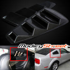 mustang window covers mustang louvers exterior ebay
