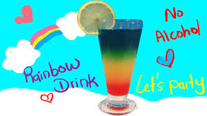 cocktail drinks on the beach rainbow drink non alcohol cocktail for kids awesome youtube