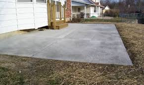 Refinishing Concrete Patio Concrete Patio Cost And Install Information The Concrete Network