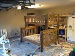 Plans For Building Triple Bunk Beds by Ana White Twin Over Full Bunk Bed Diy Projects
