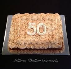 snickerdoodle sheet cake happy 50th birthday