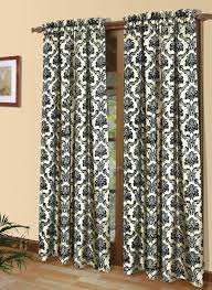 Wide Window Curtains by Curtains Lace Patterned Floral Striped Solid