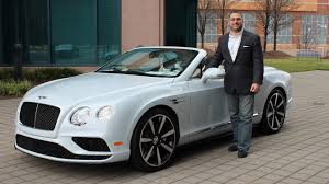 bentley gtc v8 2016 bentley continental gtc v8 s for lease sale review walk