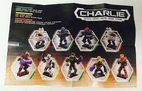 code number list halo mega bloks charlie series figures halo