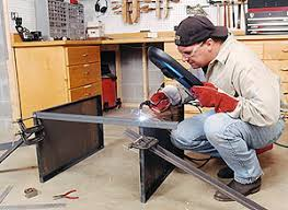 How To Build A Workbench by Metal Welding Table