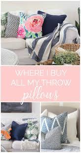 Where To Buy Throw Pillows