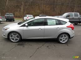 ford focus titanium silver ingot silver 2013 ford focus titanium hatchback exterior photo