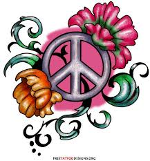 52 best peace sign tattoos images on peace signs