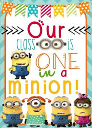 themed posters minion themed classroom posters 4 different posters your students