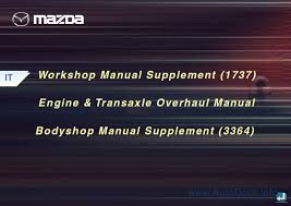 mazda mpv face lift repair manual repair manual order u0026 download