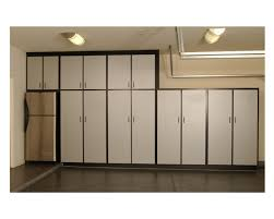 amazing white metal garage cabinets with bronze pull handle modern