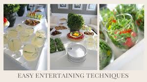 Home Tricks Easy Techniques Simple Tips U0026 Tricks For Entertaining At Home