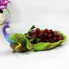 fruit basket ideas peacock wedding gift ideas continental resin fruit plate fruit plate